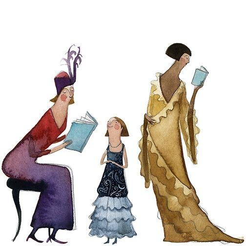 Le zie sono generalmente le migliori dispensatrici di consigli di lettura.