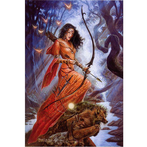Diana...Artemis's counterpart.