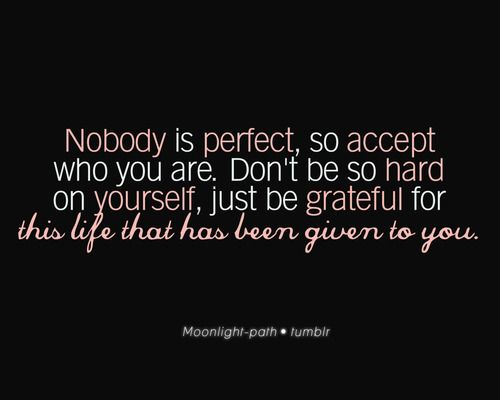 Nobody Is Perfect Quote Perfection Quotes Nobody Is Perfect Quotes Quotes