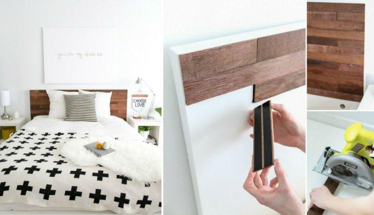 Ds Ikea Malm Bett Mit Selbstgestaltetem Kopfbrett Ikea Malm Bett Malm Bett Hochbett Selber Bauen
