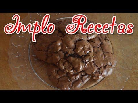 Galletas de Doble Chocolate - Implo Recetas