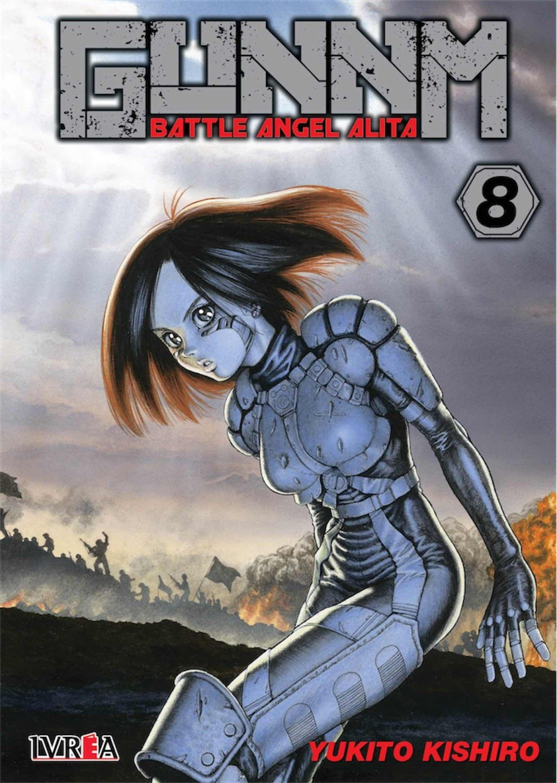 Gunnm Battle Angel Alita 8 Isbn 9788417490928 Manga De Yukito
