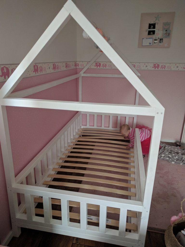 diy hausbett f r kinder baby pinterest kid beds toddler floor bed and bed. Black Bedroom Furniture Sets. Home Design Ideas