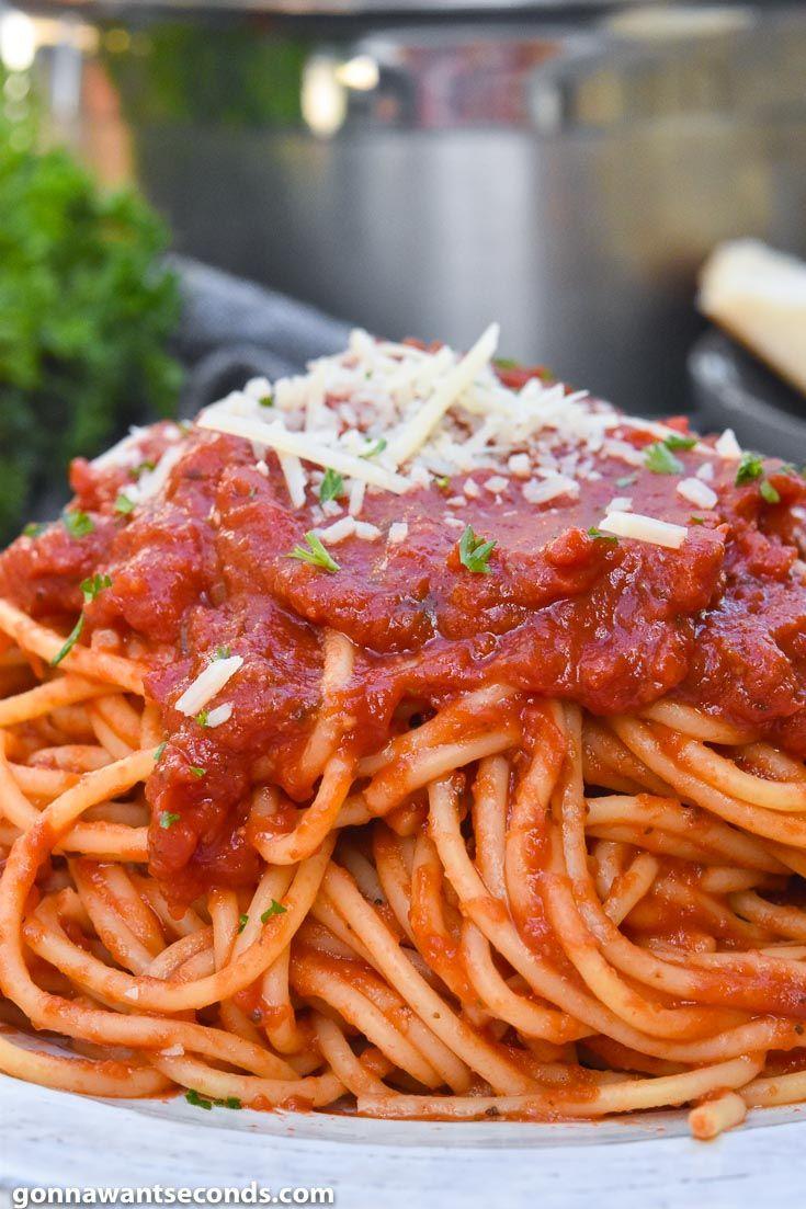 Photo of Italienische Spaghetti (hergestellt mit einfachen Zutaten!)