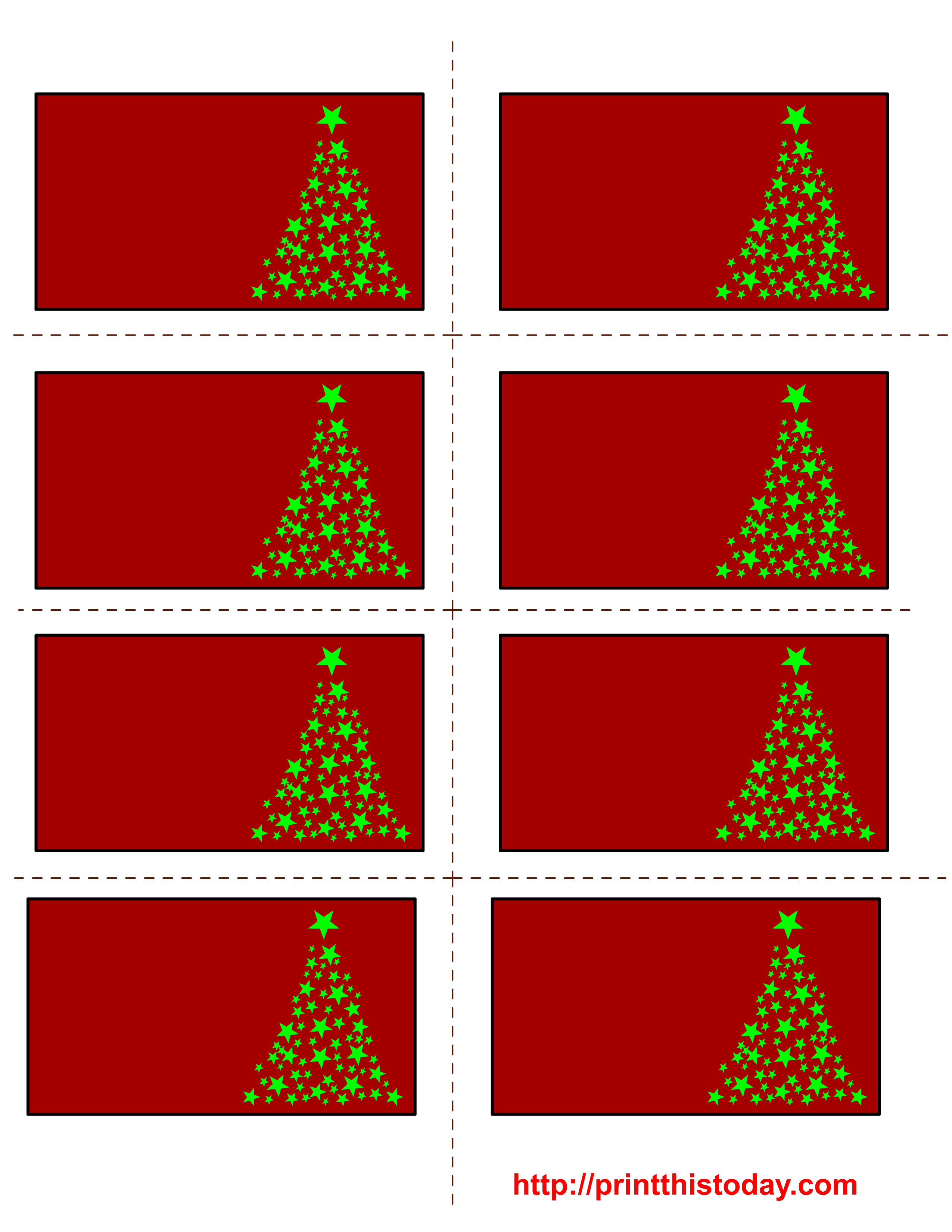 christmas labels