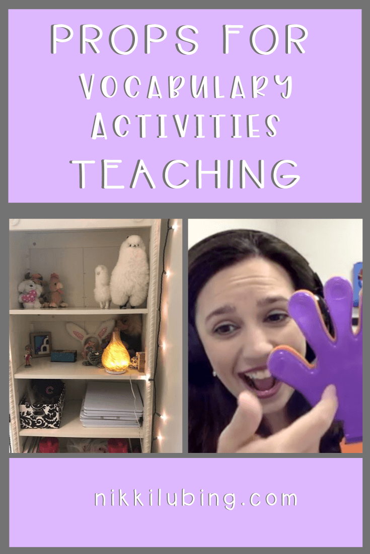 These are fun vocabulary activities applicable for