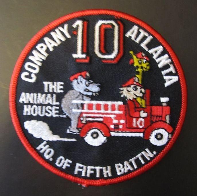 Atlanta Fire Department Company 10 | Fire patches | Atlanta