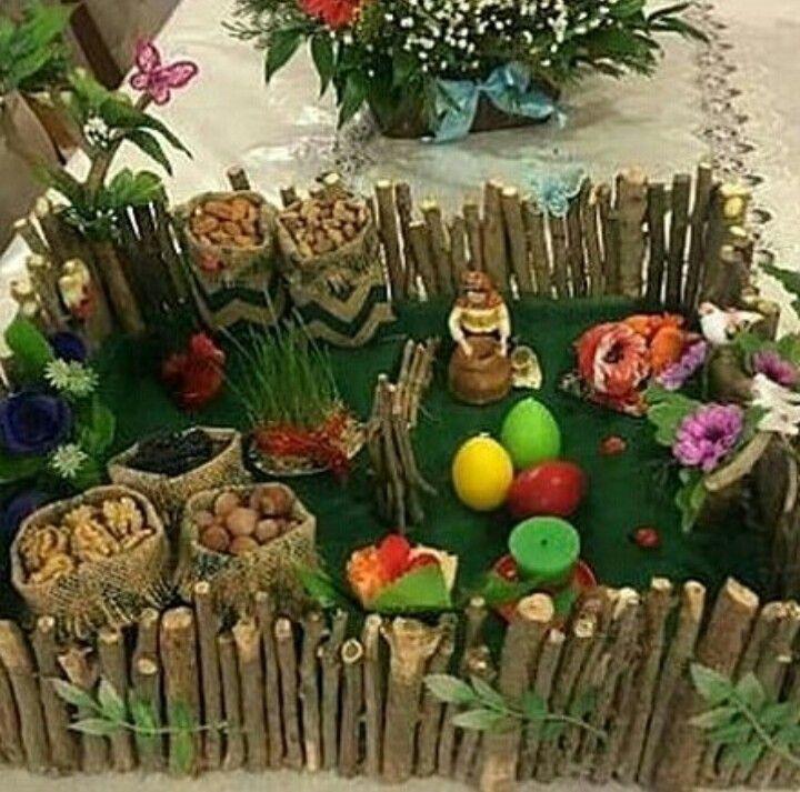 Novruz Bayram Novruz Xoncasi Holiday Diy Diy Holiday Decor Fruit Art