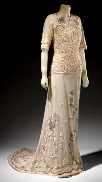 Abiti Da Sera 1912.Walkingdownaleafylane Edwardian Tea Dress C 1912 Abiti
