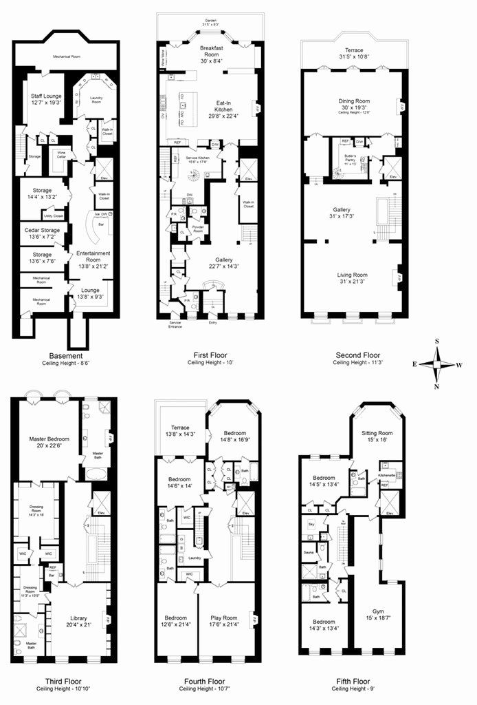 20000 Sq Ft House Plans Best Of Manhattan S 10 Largest