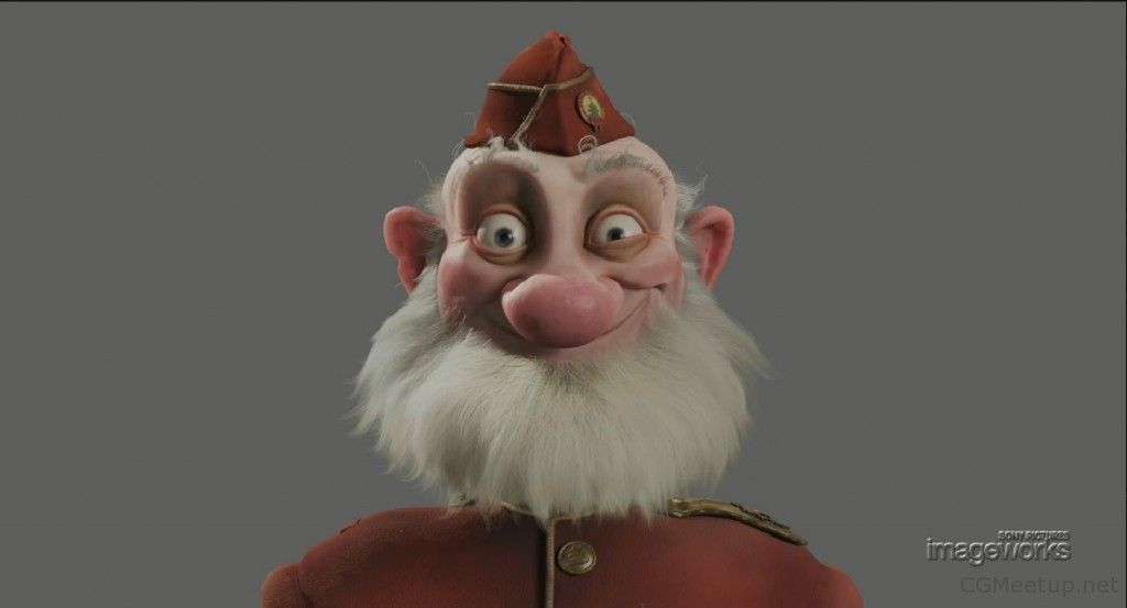 Arthur Christmas Characters.Making Of Arthur Christmas Grandsanta Sony Pictures