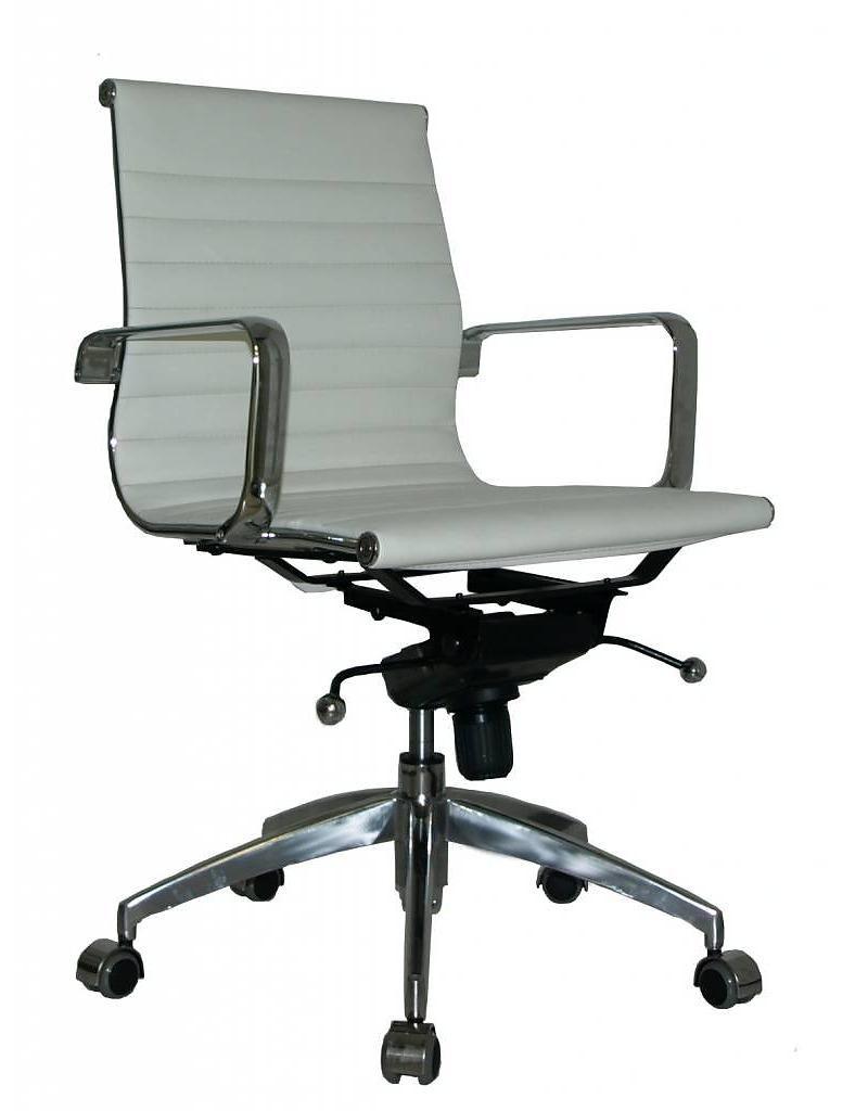 Lederen Bureaustoel Kopen.Ea117 Comfort Leer Bureaustoel Copy Design Natural