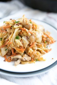 Easy Chicken and Cabbage Skillet