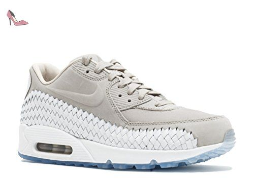on sale 1ef6e d79e9 Nike Air Max 90 Woven, Chaussures de Running Homme, Gris (Lt Iron Ore