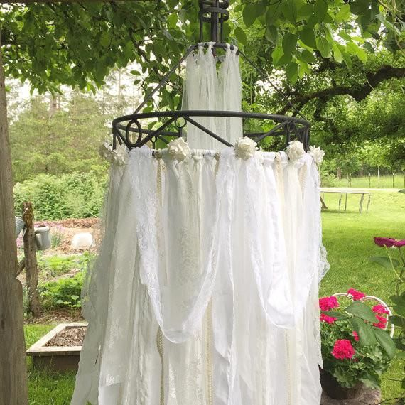 Bohemian Fabric Canopy                         – Hallstrom Home