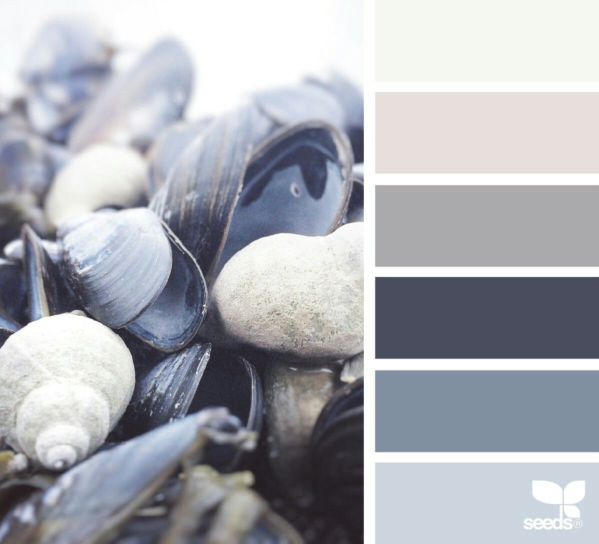 Cool Greys Really Create A Contemporary Colour Theme That