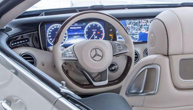 2017 Mercedes Benz S Cl Interior