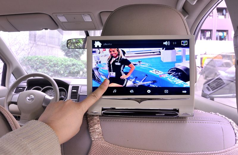 9 Inch Headrest Touch Screen Car Monitor Is A Fantastic Way To Increase The Entertainment Value In Your Vehicle As Headrest Dvd Player Car Dvd Players Monitor