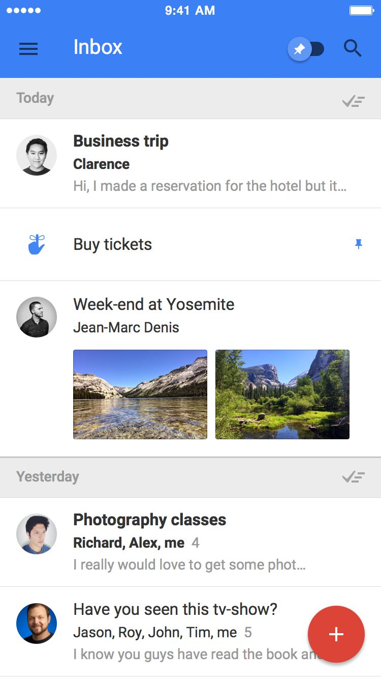 Gmail metro theme - Inbox Gmail 1