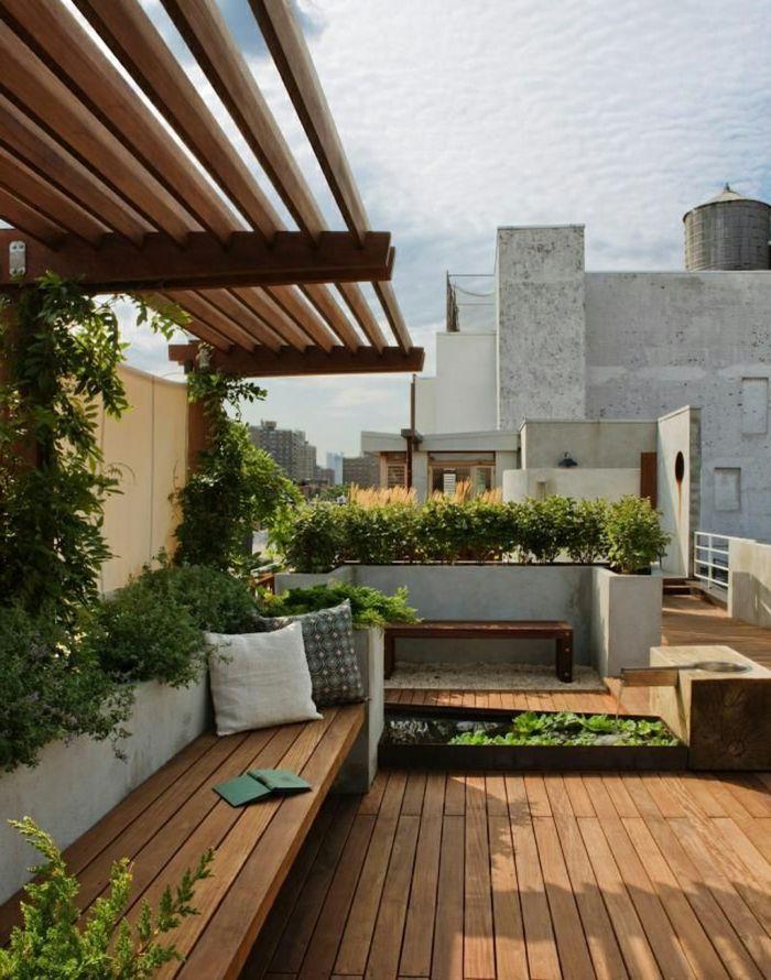 Moderne Terrassengestaltung Einen Luxuriosen Aussenbereich