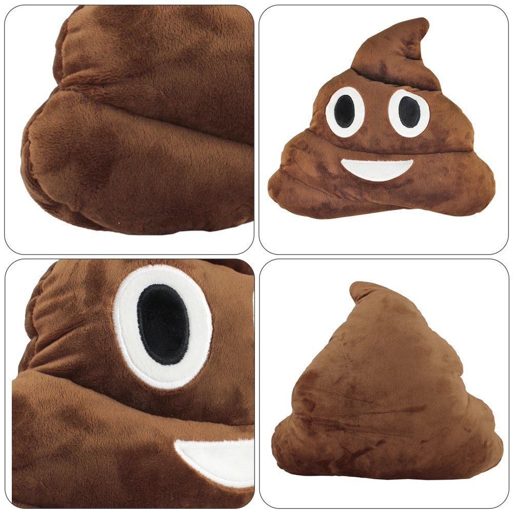 poop emoji pillow plush toys for kids boys girlsstuffed poo