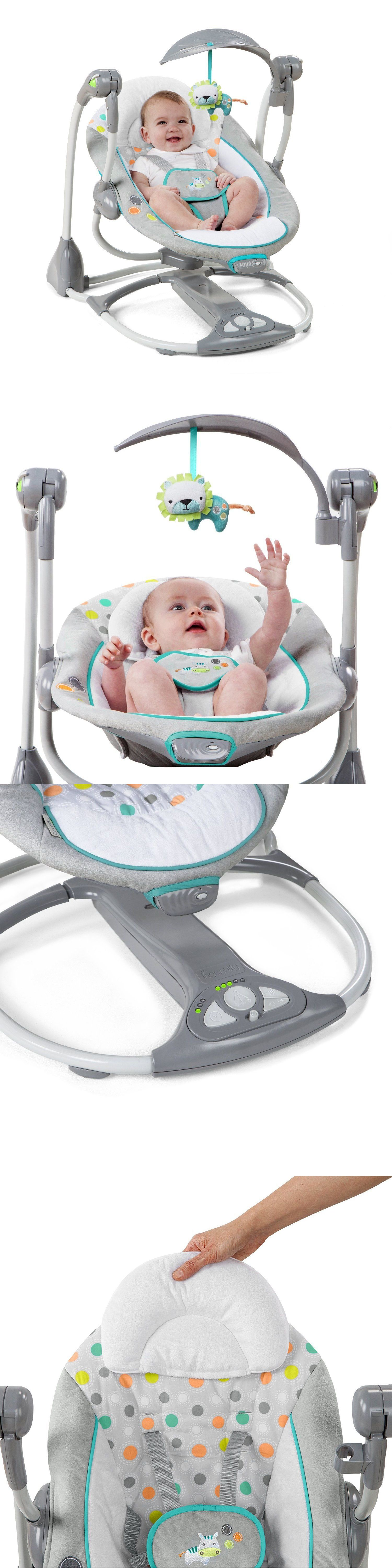 Baby Baby Swing 2 Seat Infant Toddler Rocker Chair Little