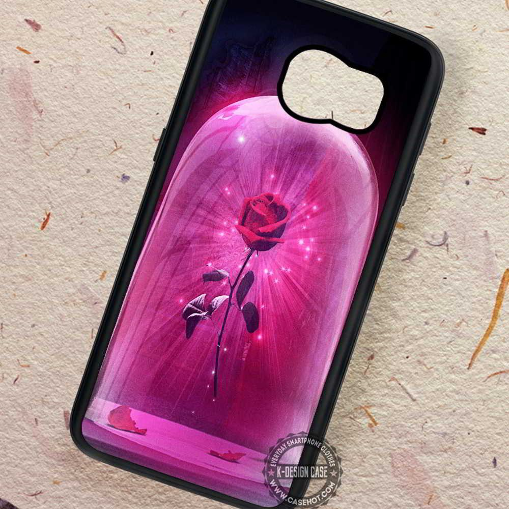 Rosse Shining Beauty and The Beast Art- Samsung Galaxy S7 S6 S5 Note 7 Cases & Covers
