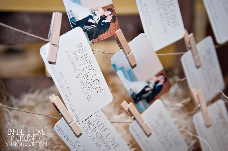 Creative way to display business cards bridal fair ideas creative way to display business cards colourmoves