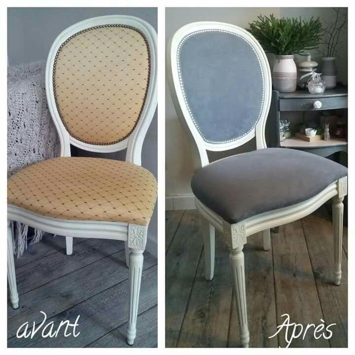 relooking médaillon louis xvi | fauteuils et chaises | pinterest