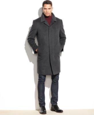 5f39105ee Coventry Wool-Blend Overcoat   Dapper Swag   Mens wool coats, Mens ...