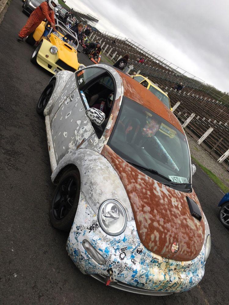 eBay Vw beetle 1.8 turbo Drag race track car slammed rat