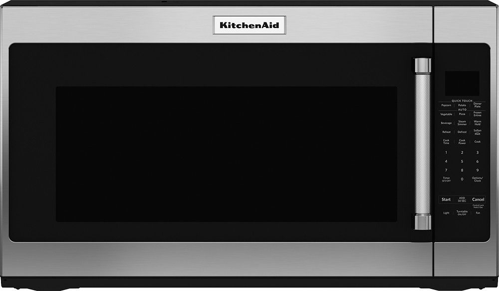 Kitchenaid 20 cu ft overtherange microwave with
