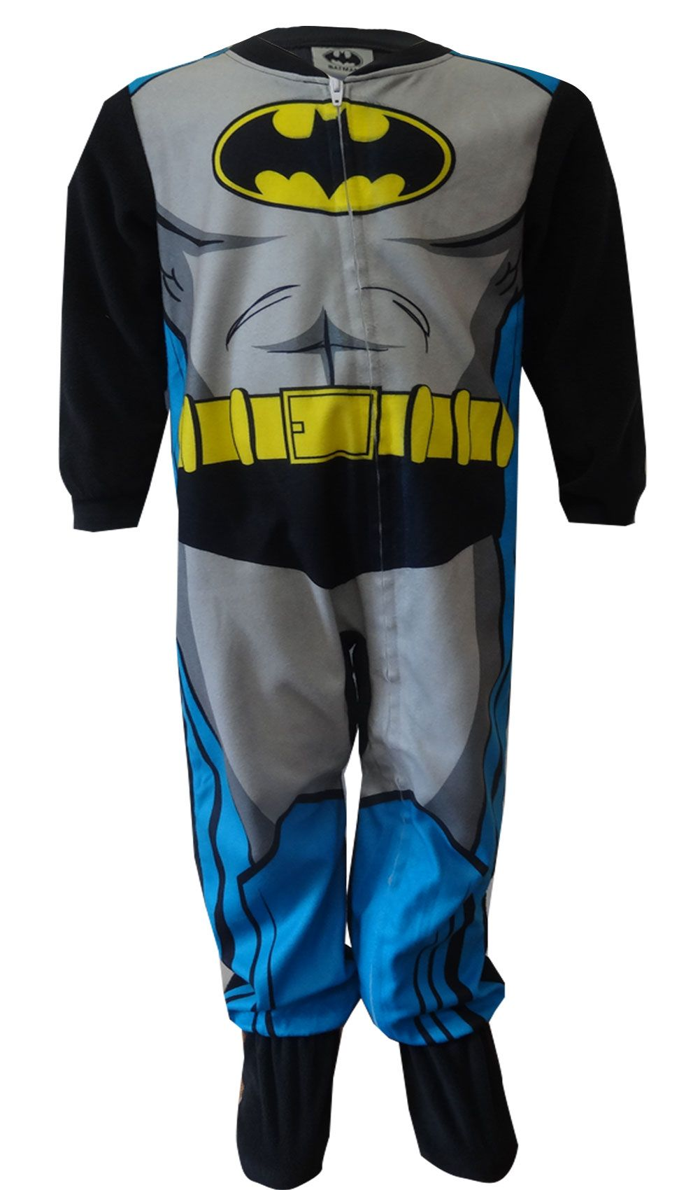 DC Comics Batman Fleece Footie One Piece Toddler Pajamas ...