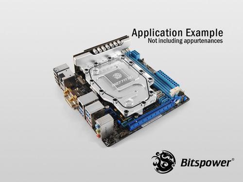 Bitspower Reveals Full Cover Water Block For Mini Itx P8z77 I Deluxe