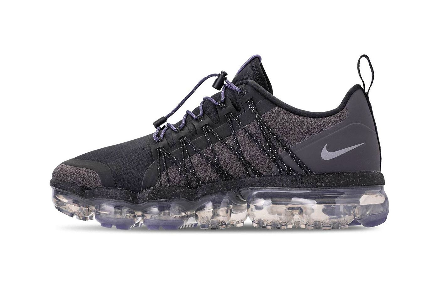 38dbbae2710 Nike VaporMax Run Utility Reflect Silver Release Black Thunder Grey Sanded  Purple Womens