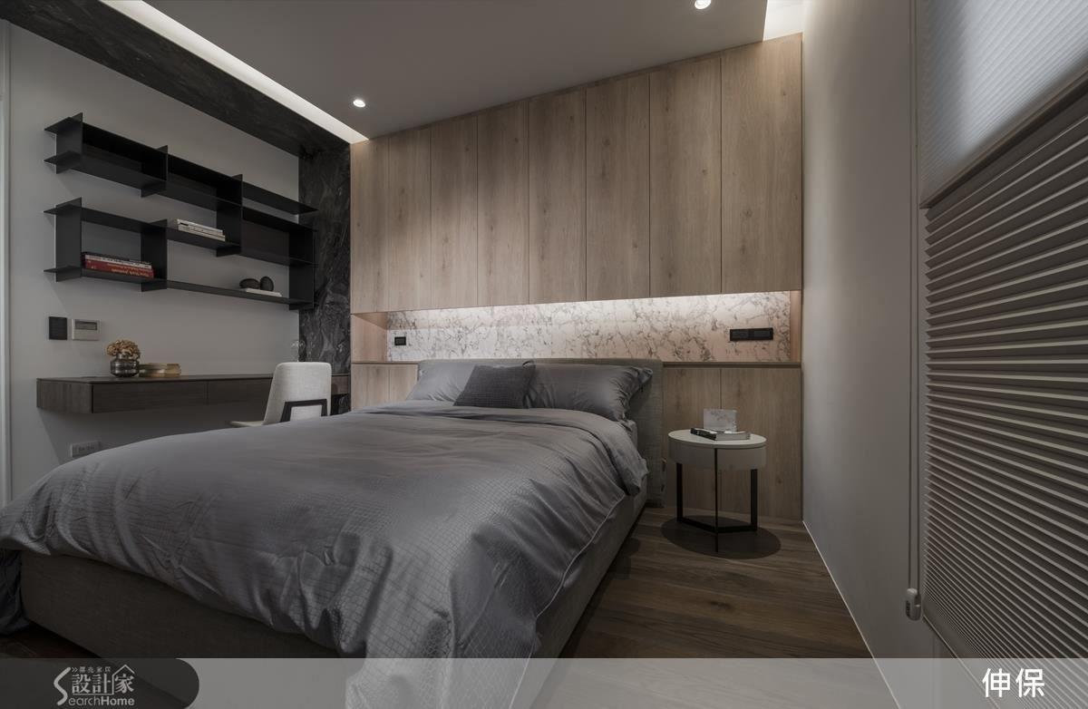 替代石材運用大躍進 千變萬化天地壁櫃實例 Modern House Design