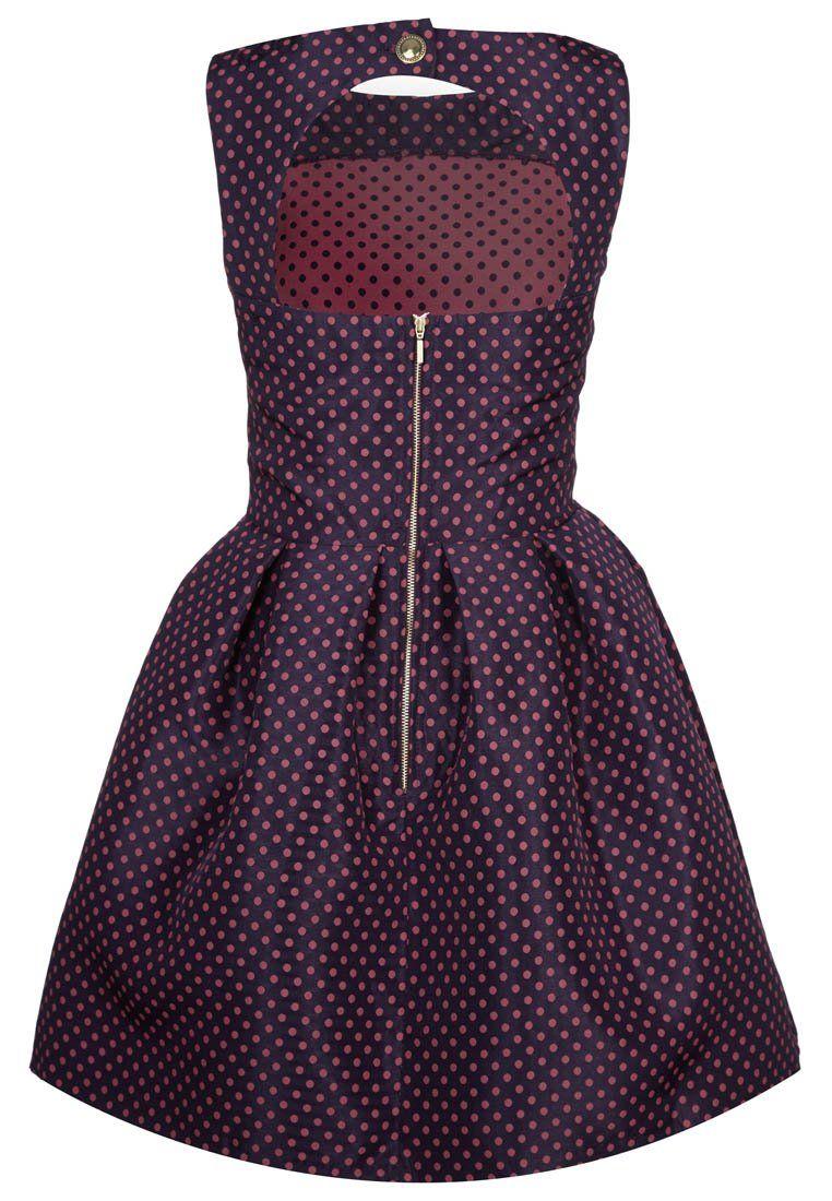 Closet - Cocktailkleid / festliches Kleid - lila/red | .... husch ...
