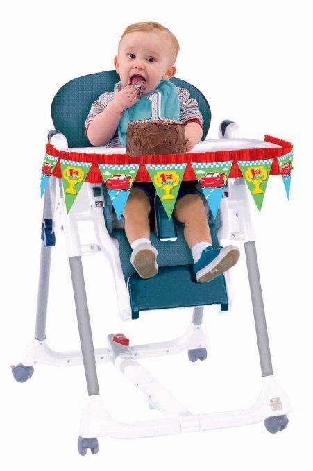 Amazoncom Amscan Disney 1St Birthday Cars High Chair Decorating