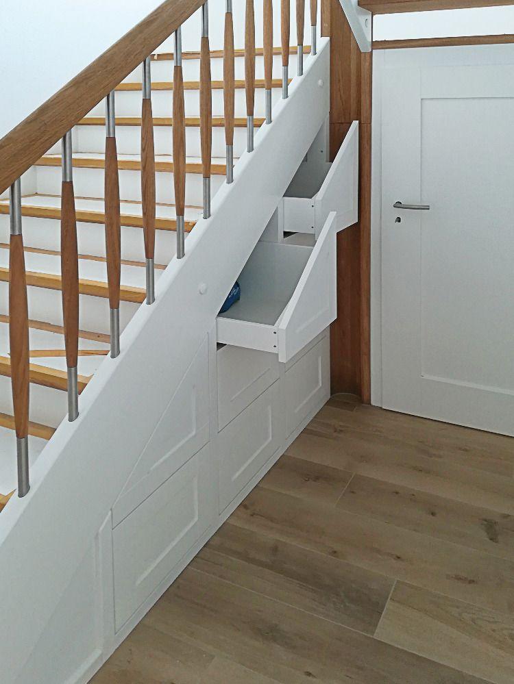 Nutze Den Platz Unter Der Treppe Und Baue Einen Passenden Schrank