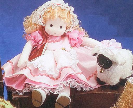 Mary Had A Little Lamb Musical Doll Sundays Child