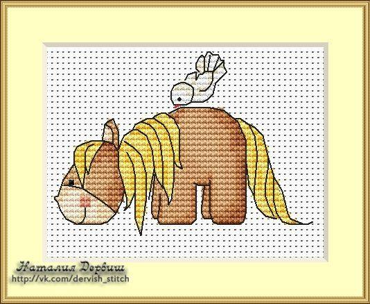 ВышивайКа - детские схемы вышивки крестом | VK