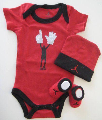 b5336617e19c70 Nike Jordan Baby 0-6 Months Lap Shoulder Bodysuits