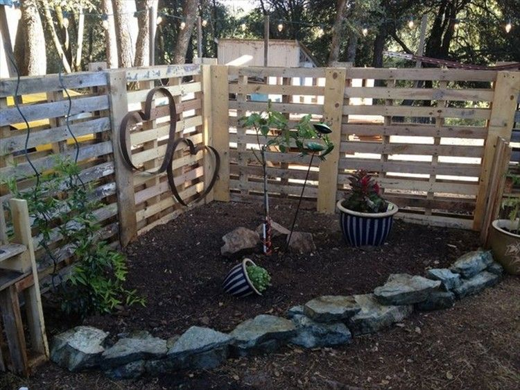 Contemporary Modern Pallet Fence Fences T To Decorating