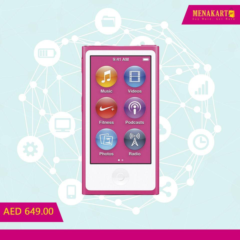 Apple iPod Nano (8th Generation) - 16GB, Pin #Apple #AppleiPod #iPod #music #photos #videos #Online #shopping