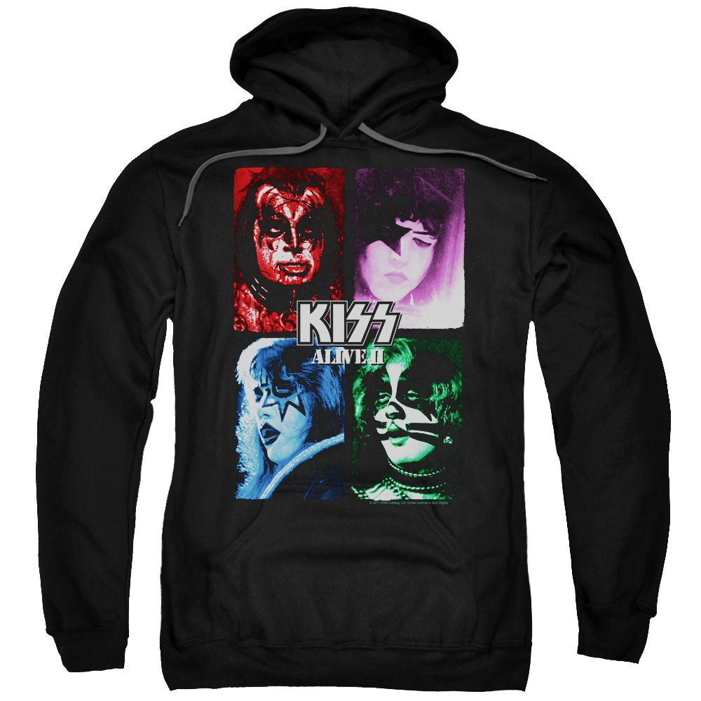 Kiss Alive Ii Album Cover Hoodie In 2020 Hoodies Album Covers