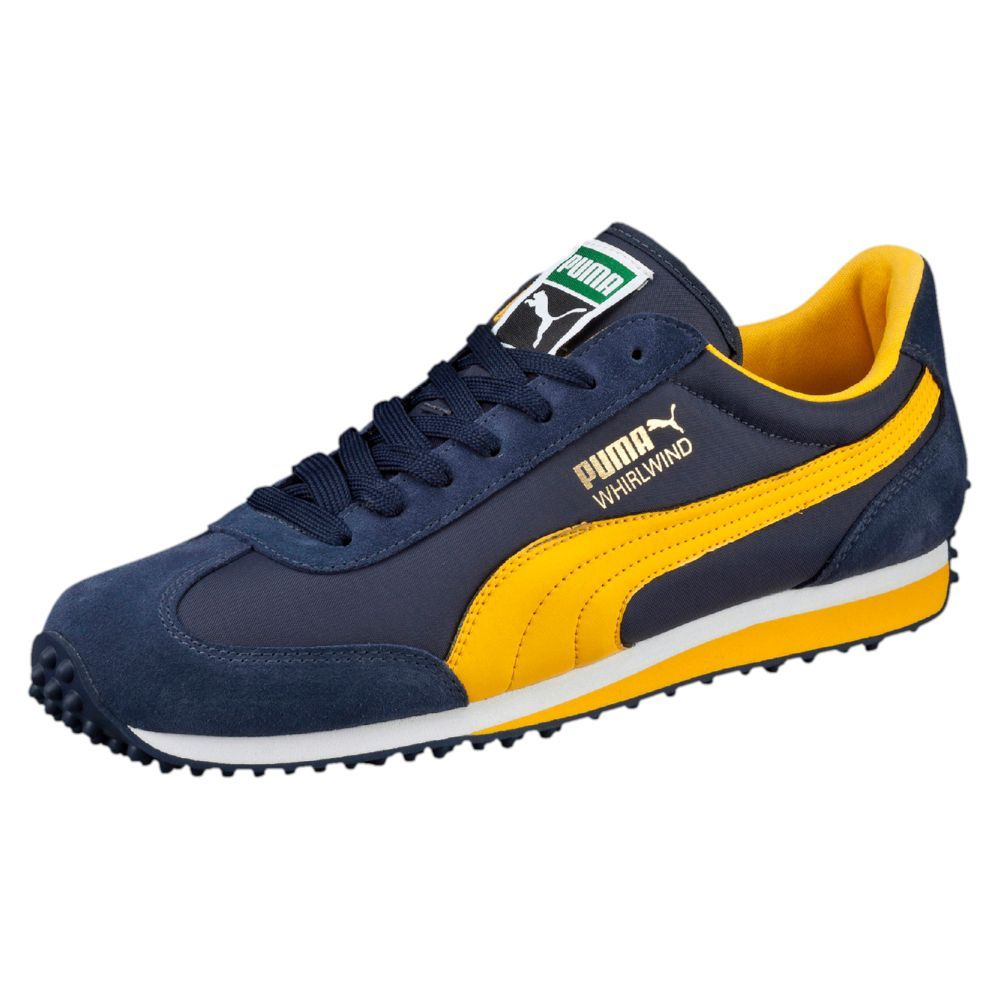 ... Shoes WhiteRed Navy Blue Original Whirlwind Classic Lo Mens Sneakers  ... Puma Whirlwind - Navy blueYellow ... 95a831a13