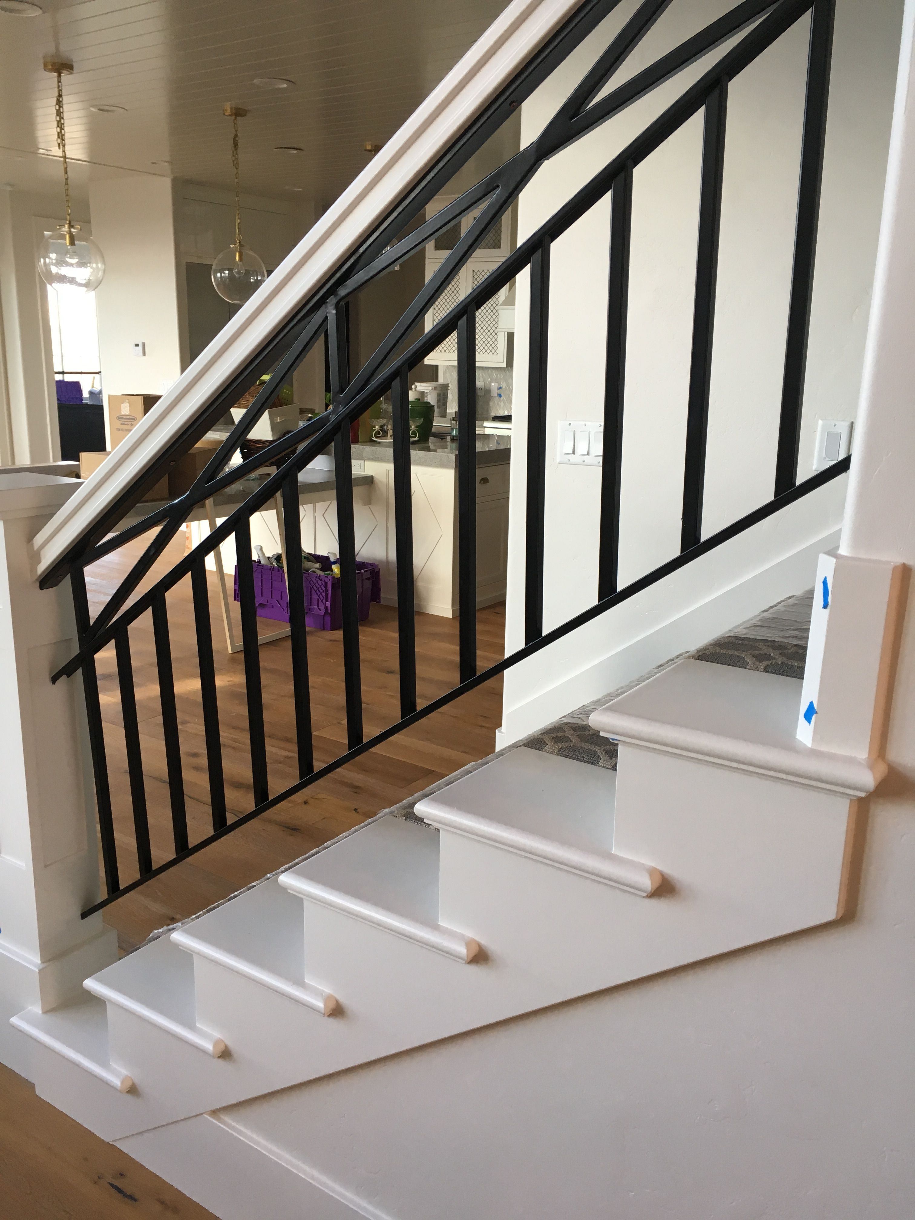 Pin by Cowie Construction on Stair Railings | Railing ...