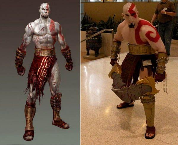 Video Game Tattoos Of War Kratos Red Tattoo Iat Video