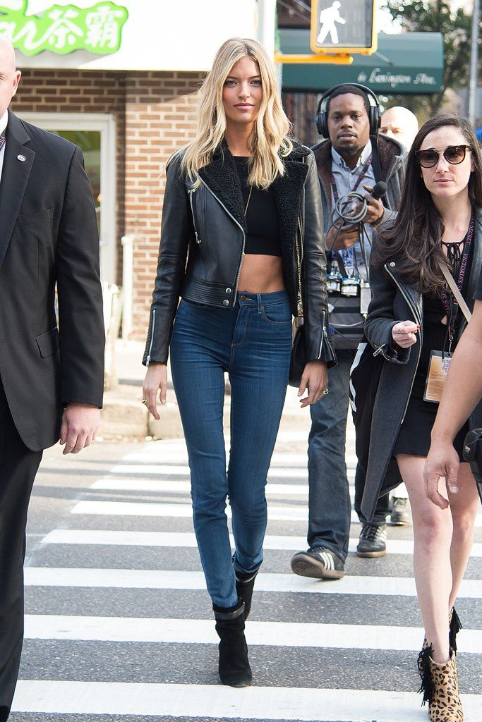 Models Wearing Skinny Jeans | POPSUGAR Fashion