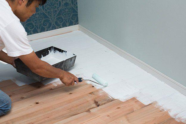 Paint unsightly floors diy home improvement projects upgrade paint unsightly floors diy home improvement projects upgrade your home with these easy do solutioingenieria Images